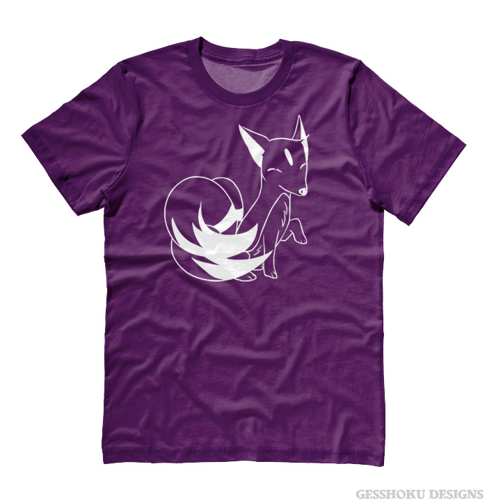 Majestic Kitsune T-shirt - Purple
