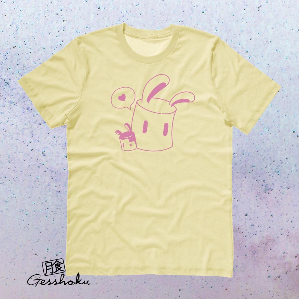 Marshmallow Bunnies T-shirt - Yellow