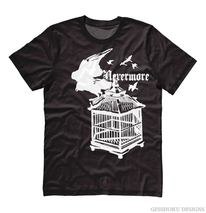 Nevermore: Raven's Cage T-shirt - Black