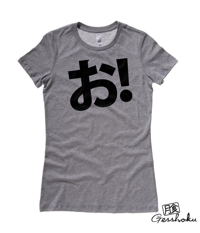 Anime Guide To Hiragana: O! Hiragana Ladies T-shirt