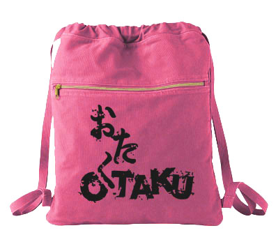 Otaku Cinch Backpack - Raspberry