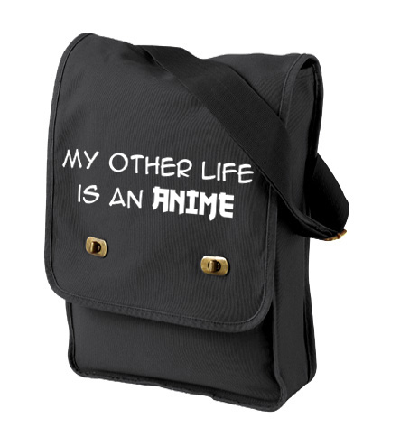 My Other Life is an Anime Field Bag - Black