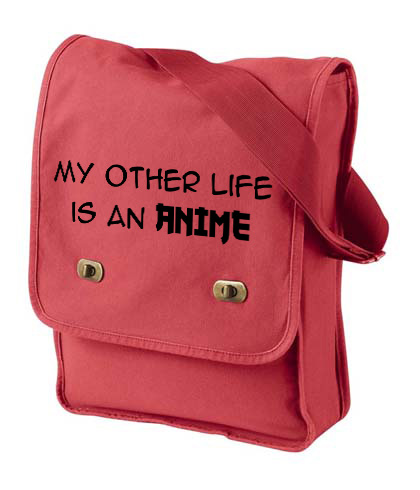 My Other Life is an Anime Field Bag - Red