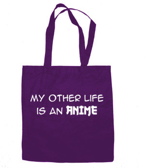 My Other Life is an Anime Tote Bag