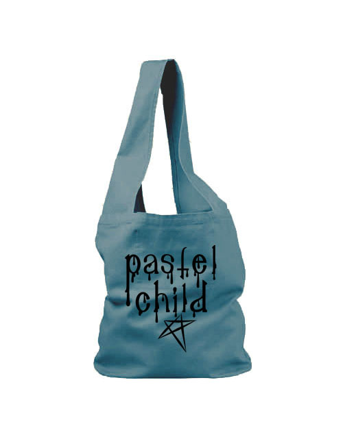 Pastel Child Sling Bag - Ocean Blue