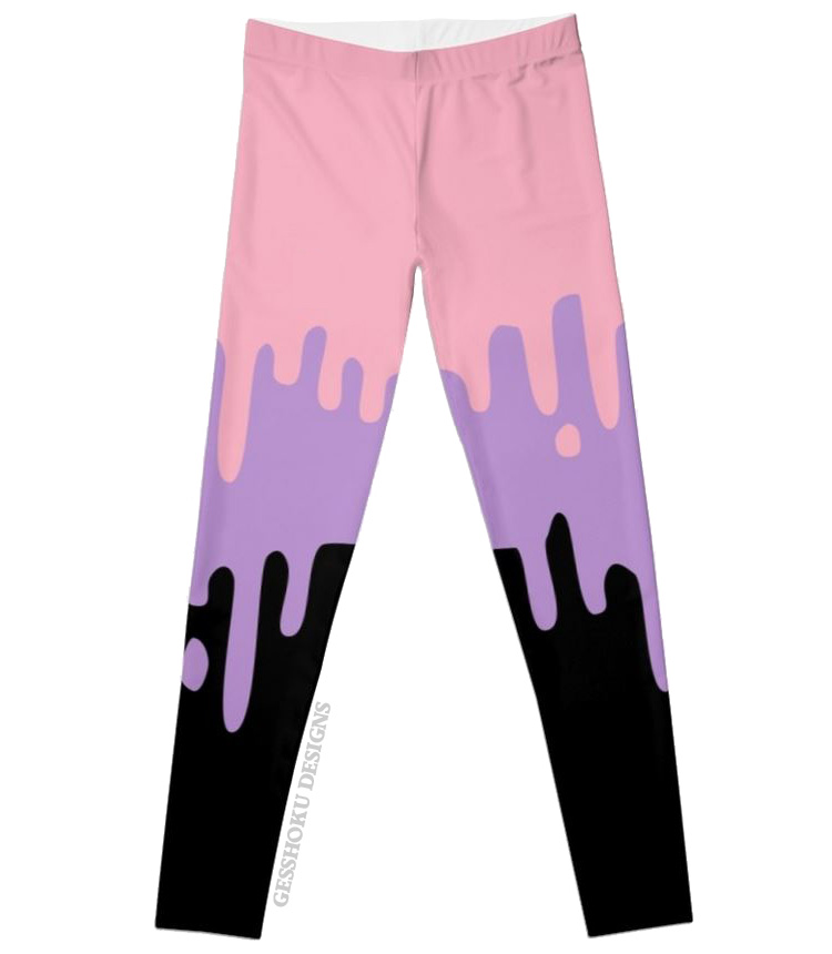 Pastel Slime Leggings or Tights -