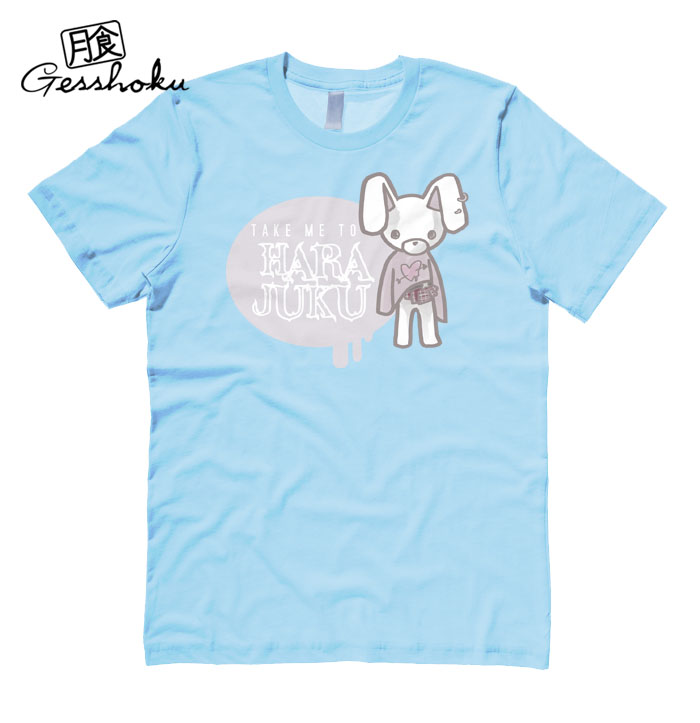 Take Me To Harajuku T-shirt - Light Blue