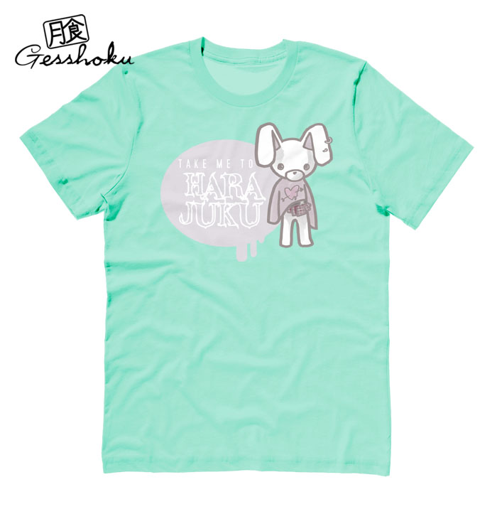 Take Me To Harajuku T-shirt - Mint