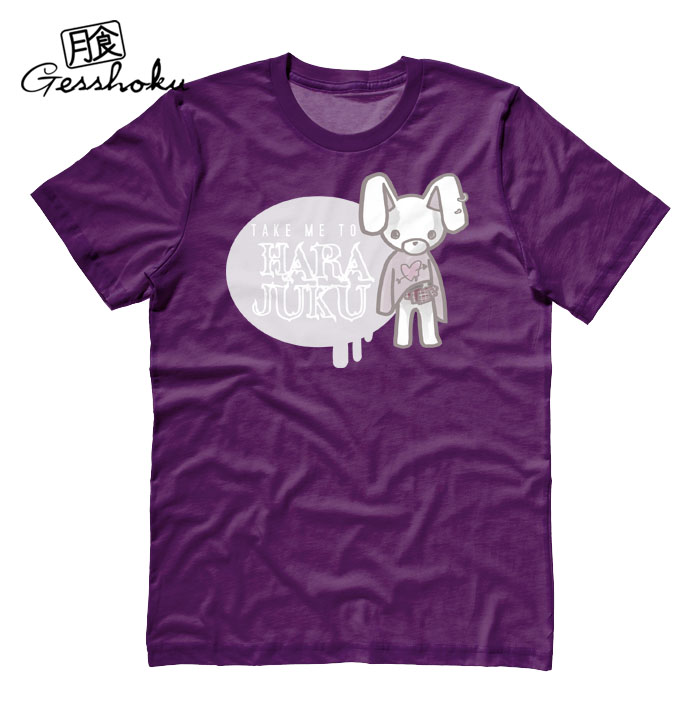 Take Me To Harajuku T-shirt - Purple