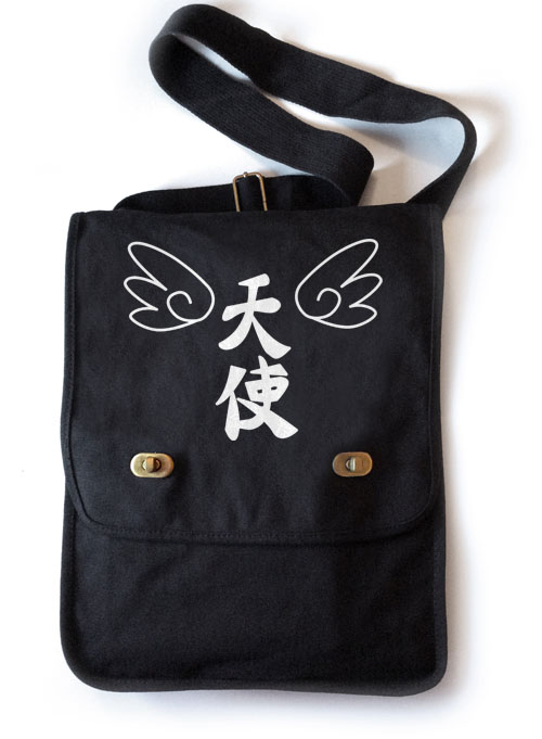 Tenshi Angel Wings Field Bag - Black