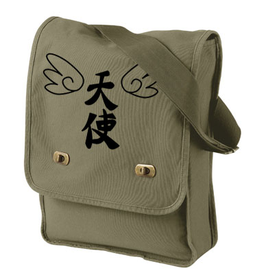 Tenshi Angel Wings Field Bag - Khaki Green