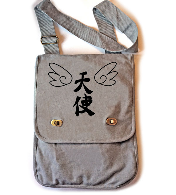 Tenshi Angel Wings Field Bag - Smoke Grey