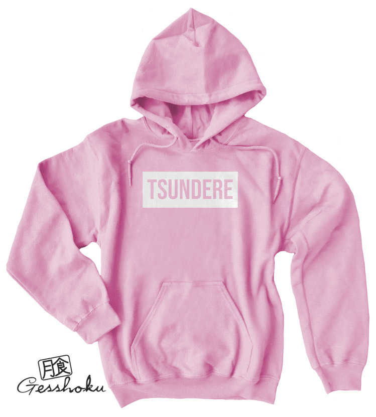 Tsundere Pullover Hoodie - Light Pink