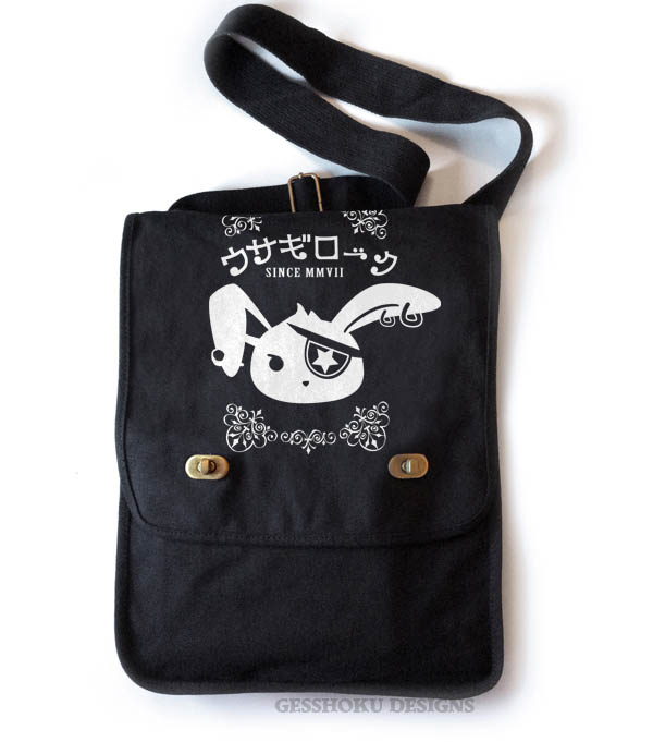 Usagi Jrock Bunny Field Bag - Black