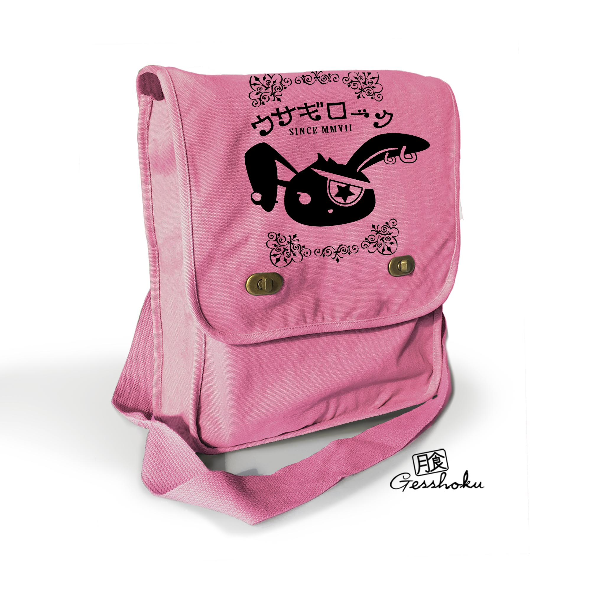 Usagi Jrock Bunny Field Bag - Pink