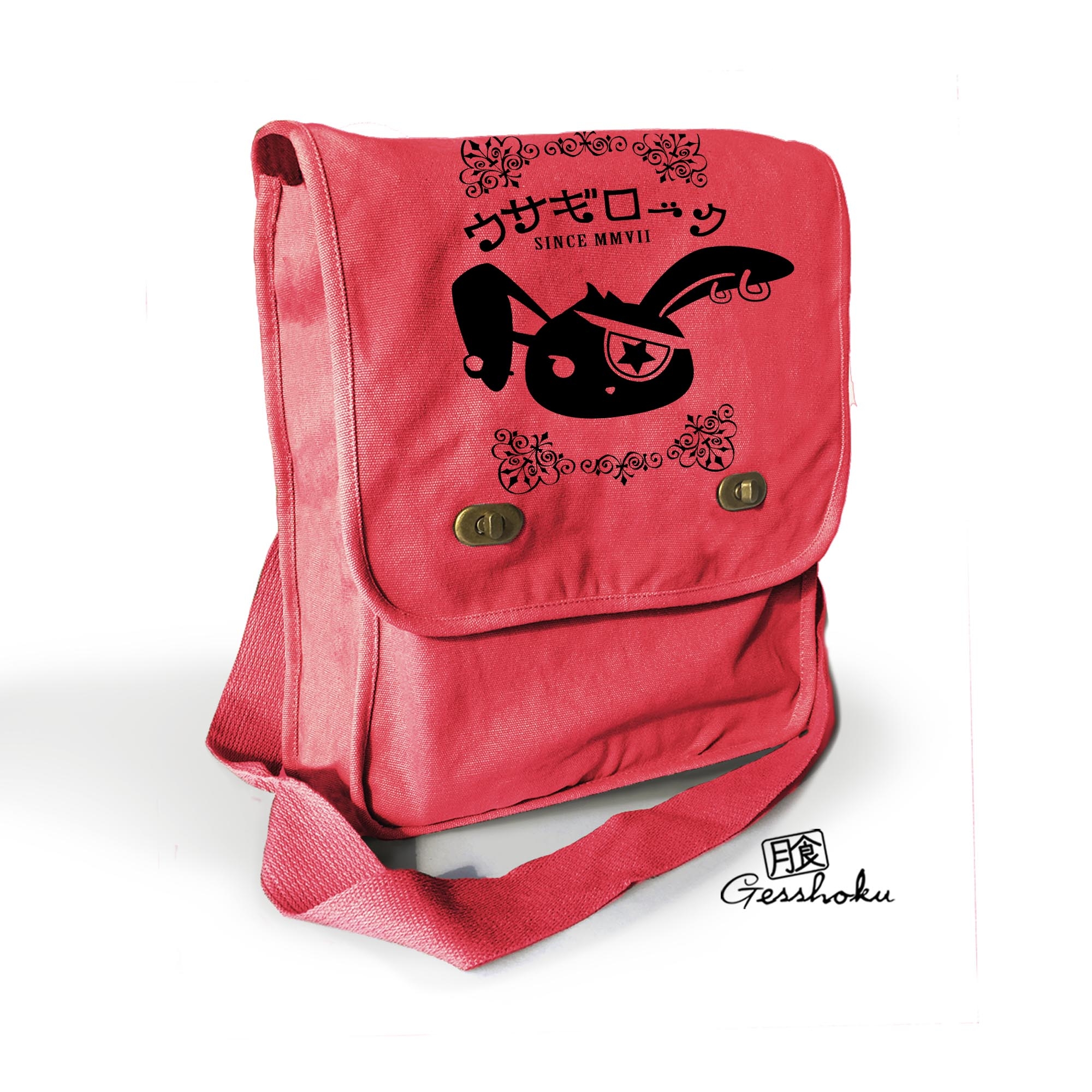 Usagi Jrock Bunny Field Bag - Red