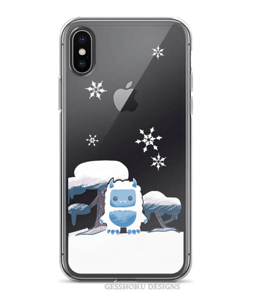 Yeti in the Snow Phone Case for iPhone/Samsung -