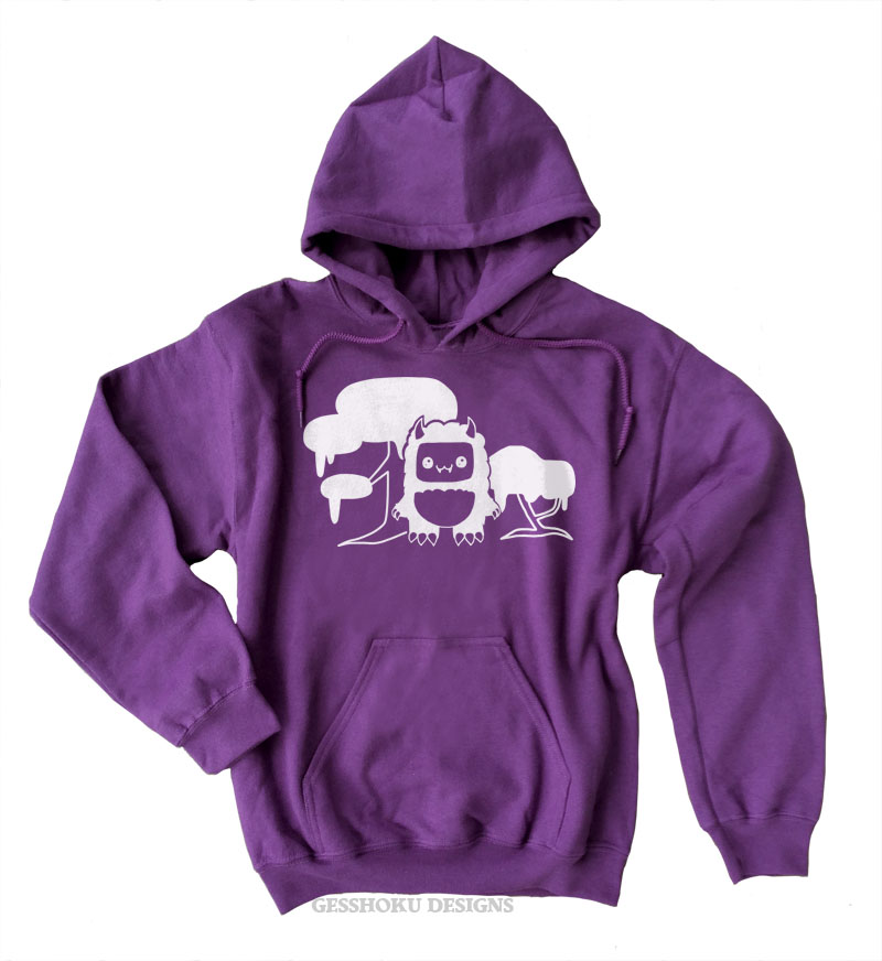 Tricky Yeti's Magical Forest Pullover Hoodie - Purple