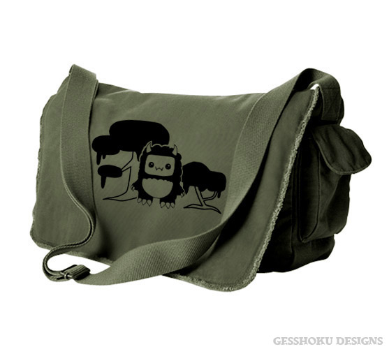 Tricky Yeti S Magical Forest Messenger Bag