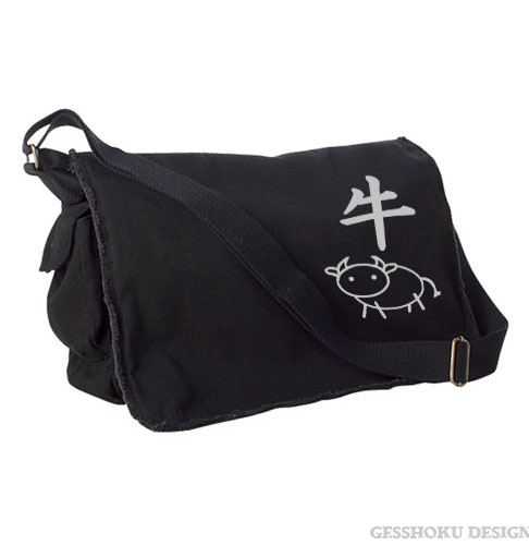 Year of the Ox Chinese Zodiac Messenger Bag -